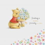 Winnie the Pooh Friendly Wish Greeting Card